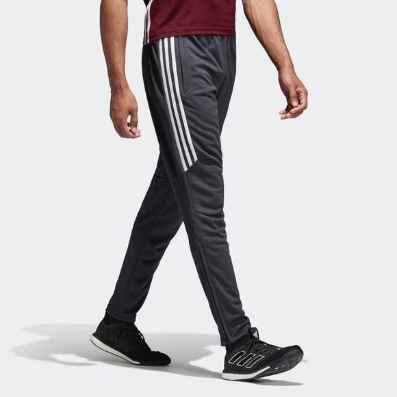 ADIDAS MENS TIRO 17 Tracksuit Bottoms Slim Fit Training Track Pant BS3678 XL NWT